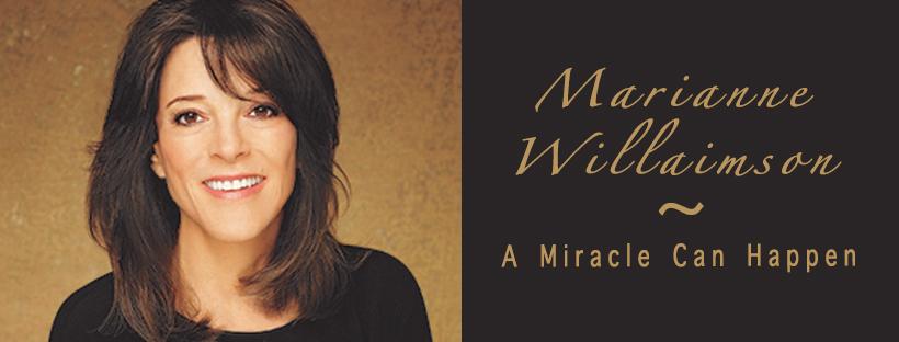 Marianne Williamson believes in miracles