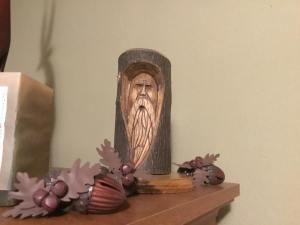 Wood Spirit for Kevin Nichols